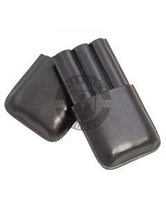 3 Finger Cigar Case Black