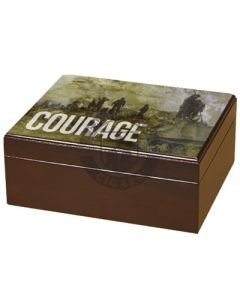 Armed Forces Courage 50 Count Humidor
