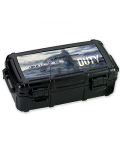 Armed Forces Duty 5 Count Travel Humidor