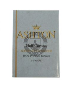 Ashton Half Corona Connecticut 5 Cigars