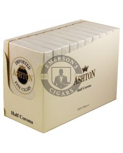 Ashton Half Corona Box 50 (10 Packs of 5 Cigars)
