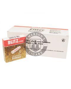 Blitz Pipe Filter 9mm 40 Pack