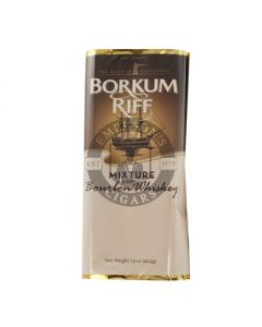 Borkum Riff Bourbon Whiskey Pipe Tobacco 5/1.5oz Packs (7.5 ounces)