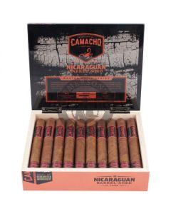 Camacho Nicaraguan Barrel-Aged Robusto Box 20