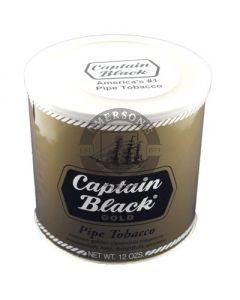 Captain Black Gold Pipe Tobacco 12oz Tin