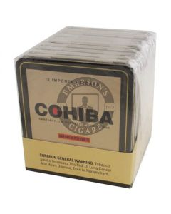 Cohiba Miniature 10 Cigar Tin
