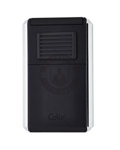 Colibri Lighter Astoria Black Chrome
