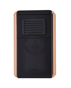 Colibri Lighter Astoria Black Rose Gold