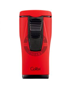 Colibri Lighter Monaco Red/Black