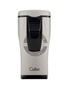 Colibri Lighter Monaco Silver/Black