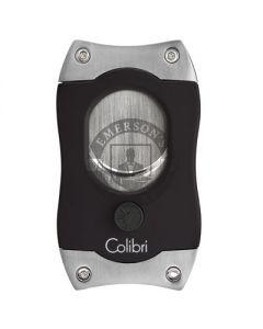 Colibri S-Cut Cigar Cutter Black/Chrome