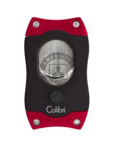 Colibri S-Cut Cigar Cutter Black/Red