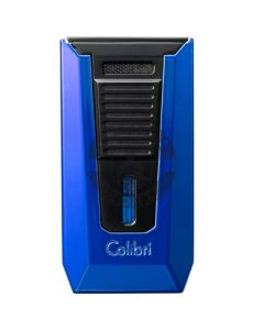 Colibri Slide Lighter Blue And Black