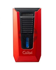 Colibri Slide Lighter Red And Black
