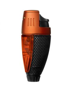 Colibri Lighter Talon Black And Orange