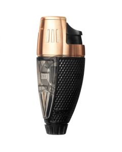 Colibri Lighter Talon Black And Rose