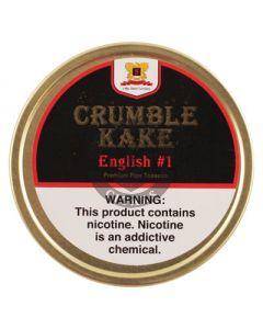 Crumble Kake Englsih 1.5oz Tobacco Tin