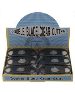 Cigar Cutter Double Blade 58 Ring Gauge Each