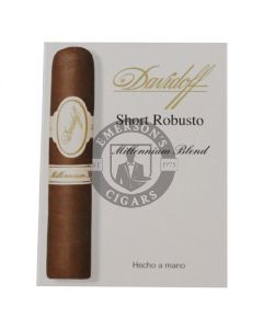 Davidoff Millennium Blend Short Robusto 4 Pack