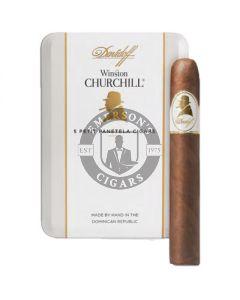Davidoff Winston Churchill Petite Panetela 5 Pack
