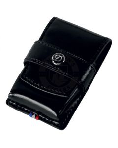 Dupont Line D Lighter Case Black Leather
