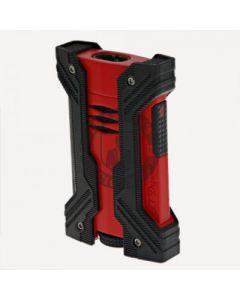 Dupont Defi Xxtreme Lighter Matte Red and Black