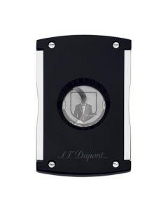 Dupont Maxijet Black and Chrome Cigar Cutter