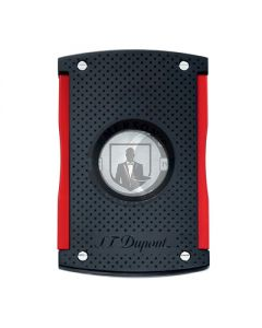 Dupont Maxijet Black and Red Cigar Cutter