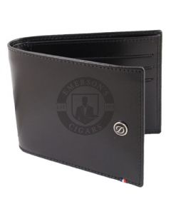 Dupont Wallet Line D Billfold 6 Credit Card Holder Black