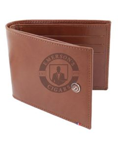 Dupont Wallet Line D Billfold 6 Credit Card Holder Brown