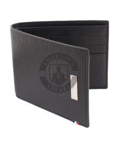 Dupont Wallet Line D Billfold 6 Credit Card Holder Contrast Black