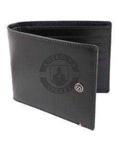 Dupont Wallet Line D Billfold 8 Credit Card and ID Holder Black