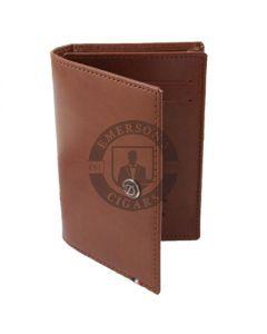 Dupont Wallet Line D Business Card Holder Brown
