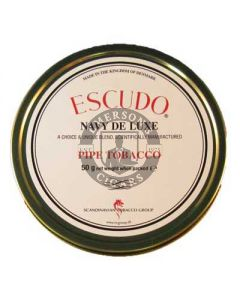 Escudo Navy De Luxe Pipe Tobacco 50g Tin