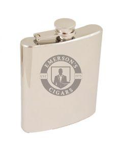 6 Ounce Mirror Steel Flask