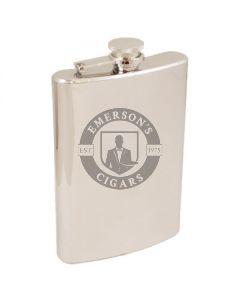 8 Ounce Mirror Steel Flask