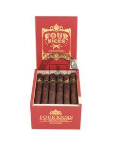Four Kicks Maduro Corona Gorda 6 Cigars
