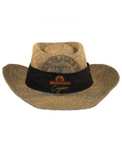 Hat Emerson's Cigars Straw