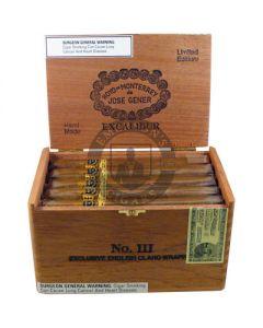 Hoyo De Monterrey Excalibur No. III (English Claro) Box 20