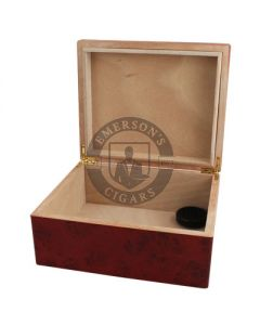 Humidor Black Cherry 40 Count with Humidifier