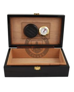 Don Salvatore Travel Humidor Black