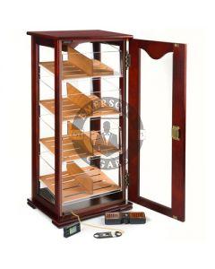 Tower Display Humidor (200 Cigar Capacity)