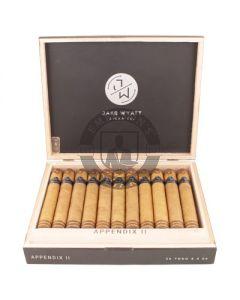Jake Wyatt Appendix II Toro 5 Cigars