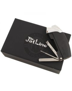 Jetline Samba Pipe Lighter Black w/ Case