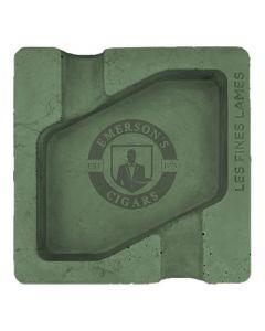 Les Fines Lames Dyad Concrete Green Ashtray