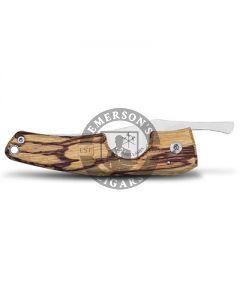 Les Fines Lames Le Petite Cigar Pocket Knife Marblewood