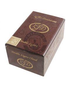 La Flor Dominicana Double Ligero Chisel (Natural) Box 20