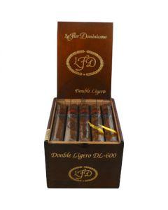 La Flor Dominicana Double Ligero DL-600 (Natural) Box 20