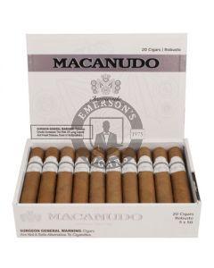Macanudo Inspirado White Robusto Box 20
