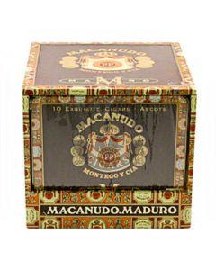 Macanudo Maduro Ascots Box 100 (10/10 Pack)